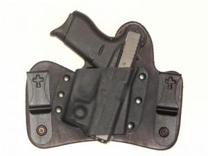 CrossBreed Holsters MiniTuck – Glock 42 with Viridian Reactor Series