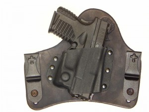 CrossBreed Holsters SuperTuck – Springfield XDS with Viridian Reactor Series