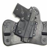 CrossBreed Holster for Sig 938 with Viridian ECR R5 Laser