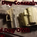 Black Dog Concealment Guard Dog OWB Holster