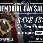 CrossBreed Holsters Memorial Day Sale