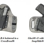 CrossBreed Holsters for Glock 42 43 with Streamlight TLR-6