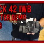 Winthrop Holsters Glock 42 IWB Leather Holster