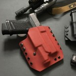 508 Holsters OWB Pancake Holster in Blood Red