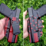 Patriot Holsters Blood Red American Flag IWB Holster