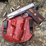 Stirn Holsters Red Leather IWB Holster