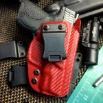 Zorn Holsters Carbon Fiber Blood Red Wraith Holster