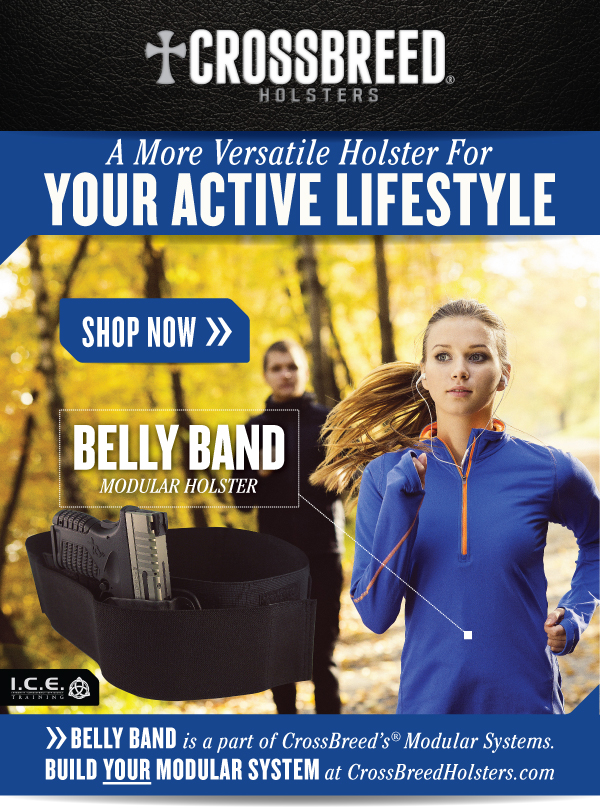 CrossBreed Holsters Belly Band Modular Holster