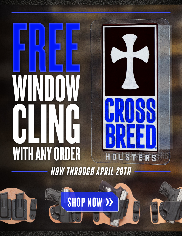 CrossBreed Holsters Window Cling