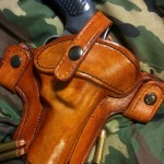 OWB Wrap Loop Leather Holster
