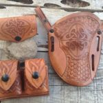 Simply Rugged Holsters Celtic Carved Gunleather
