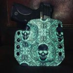 Southern Holster Worx Tiffany Blue Skull Holster
