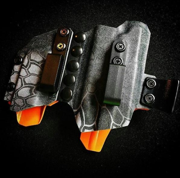 Tier 1 Concealed Agis Light Compatible Holster