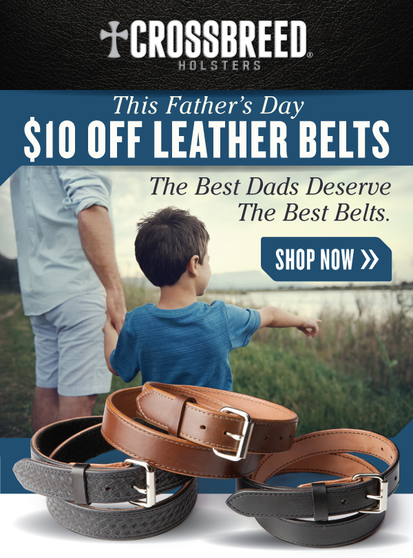 CrossBreed Leather Gun Belt Discount