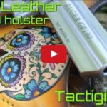 Savoy Leather Sugar Skull Holster