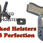 Wicked Holsters Glock 26 IWB Kydex Holster