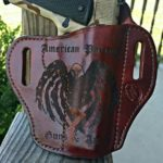 Big Ugly Leather Works OWB Laser Engraved Holster