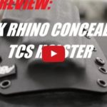 Black Rhino Concealment TCS Holster Review
