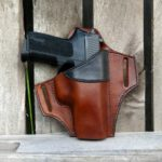 Johnston Leather Goods - OWB Operator Holster - Cowhide