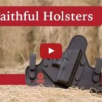 Old Faithful Holsters Leather and Steel Holster