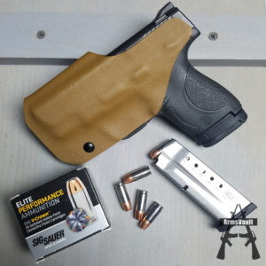 SW Shield in Wicked Holsters Standard IWB Holster