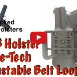 Wicked Holsters OWB Holster with Adjustable Sting Ray Loop