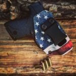 American Flag IWB Holster for MP Shield