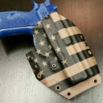 Tactical Oatmeal OWB Holster for a CZ SP-01