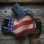 Savoy Leather Patriot Holster with Preamble
