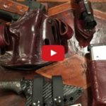 Simply Rugged Holsters Cuda Leather Concealed Carry Holster