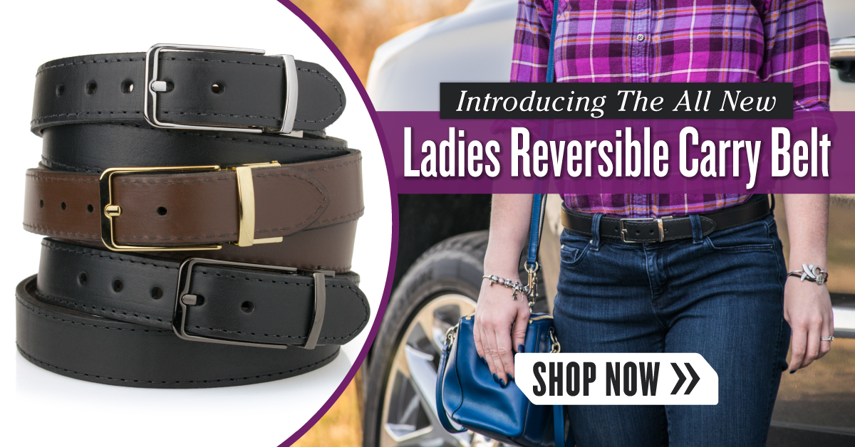 CrossBreed Holsters Ladies Ladies Reversible Carry Belt