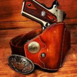 SH Gun Rigs 1911 Leather Holster