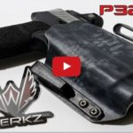 Werkz Custom Holster for Sig P320RX with Streamlight TLR-2 Weapon Light