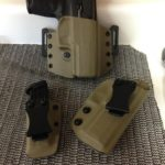 Alameda Custom Holsters Sig P320 Kydex Holsters and Mag Carrier