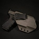 B3 Concealment Kydex IWB Holster for Glock 19