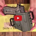 Renaissance Firearms Kydex Holster for Arex REX Zero 1