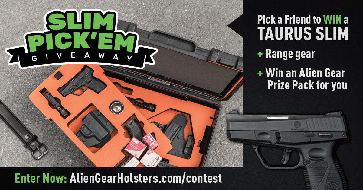 alien gear giveaway alien gear holsters giveaway featuring taurus slim 4606