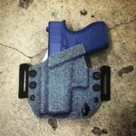 Cascadia Kydex Glock 43 Holster - Denim Print