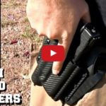 Hidden Hybrid Holsters OWB Holster for Glock 17 with Streamlight TLR-1