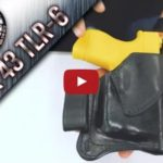 Winthrop Holsters IWB Leather Holster for Glock 43 with TLR-6 Streamlight