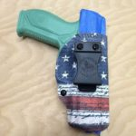 American Flag Infused Kydex IWB Holster for Ruger American Pistol