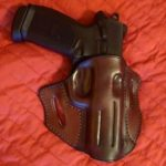JM4 Tactical Two Step OWB Leather Holsters