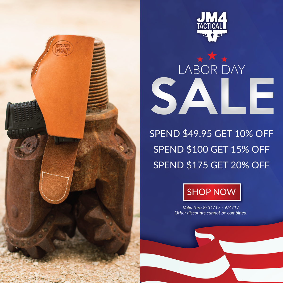 JM4 Tactical Labor Day Sale