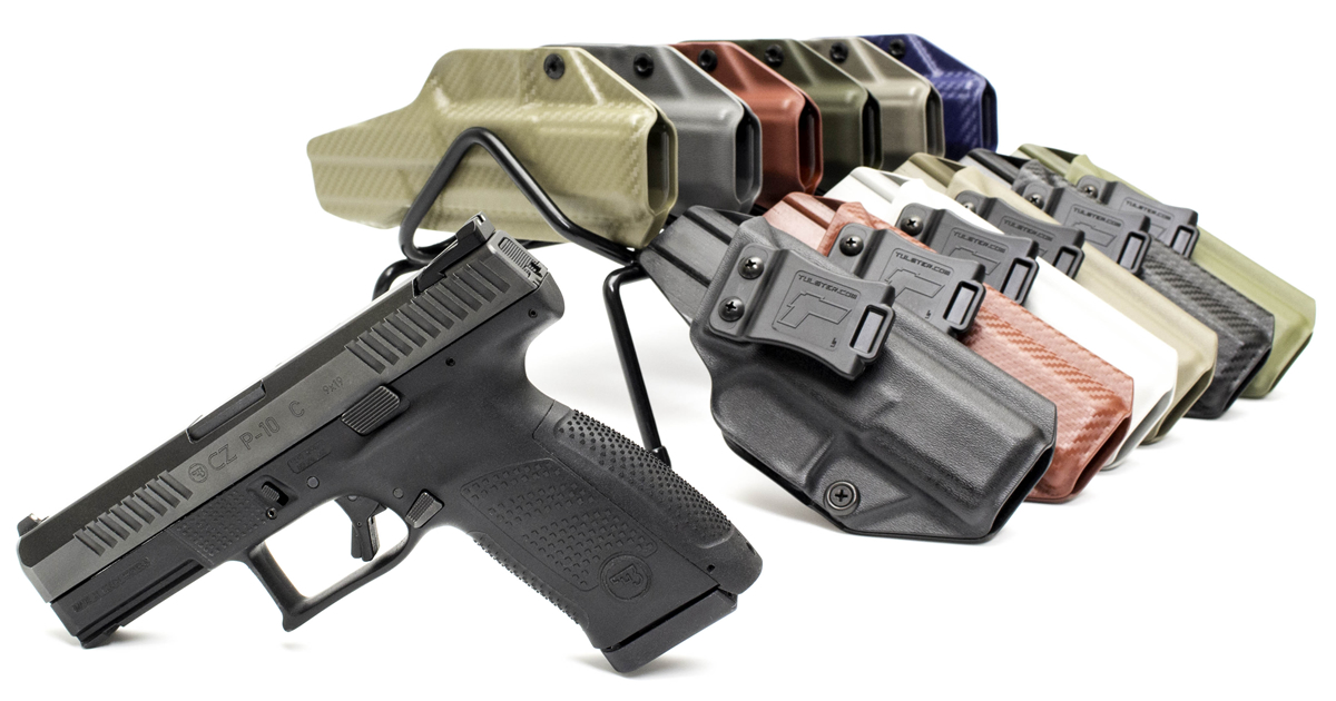 Tulster IWB Profile Kydex Holsters for CZ P-10 C