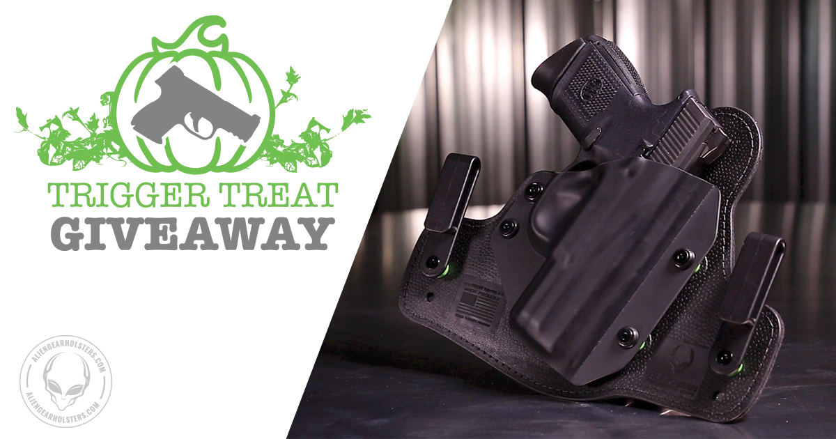 Alien Gear Holsters Trigger Treat Giveaway