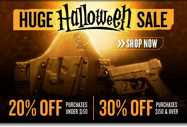 CrossBreed Holsters Halloween Sale