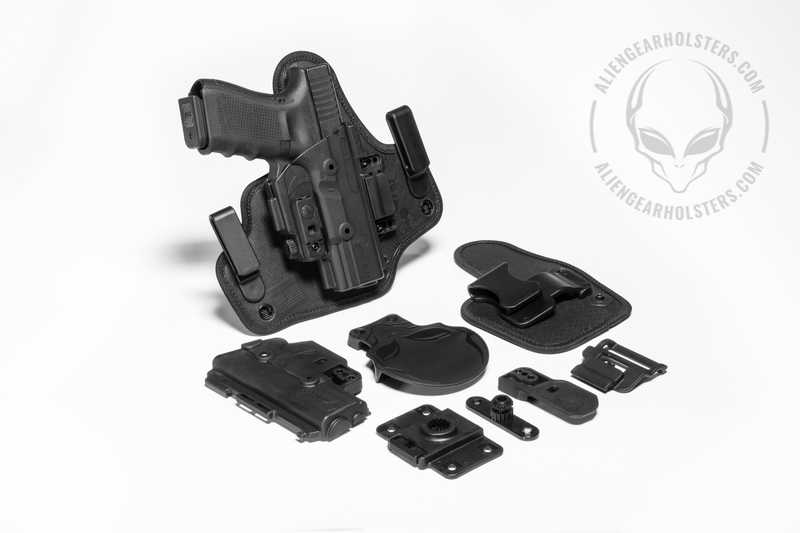 Alien Gear Holsters ShapeShift Starter Kit Components