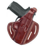 Leather Pancake Holster with 2 Carry Positions