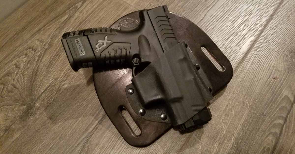 CrossBreed SnapSlide OWB Holster for Springfield Armory XDM