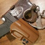 Salty Dog Holster Works Custom OWB Holster for Glock 17